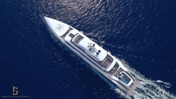Ia salah satu fans garis keras akan seluk beluk yacht dan sejenisnya. Setelah mengunggah tentang kapal-kapal yang luar biasa selama hampir tiga tahun, pria di balik akun @theyachtmogul itu beralih ke desain yacht.