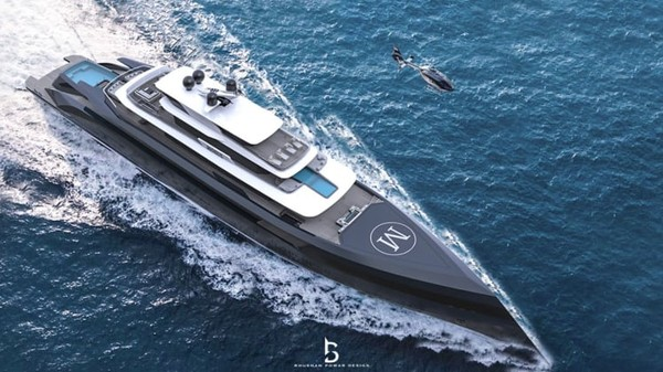 Seorang selebgram mendesain sebuah superyacht atau kapal pesiar skala kecil. Kisahnya berawal dari hobi mengunggah foto kapal pesiar. Ia bernama Denis Suka yang memiliki lebih dari 350 ribu pengikut di Instagram.