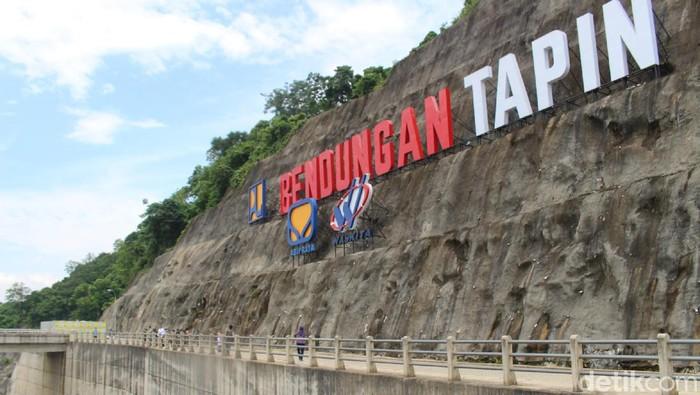 Presiden Jokowi diagendakan meresmikan Bendungan Tapin, Kalimantan Selatan (Kalsel) pada Kamis (18/2) besok.