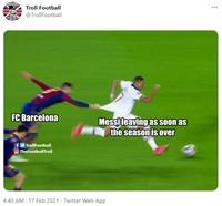 Barcelona kalah telak dari PSG dengan skor akhir 1-4 di leg pertama 16 besar Liga Champions.