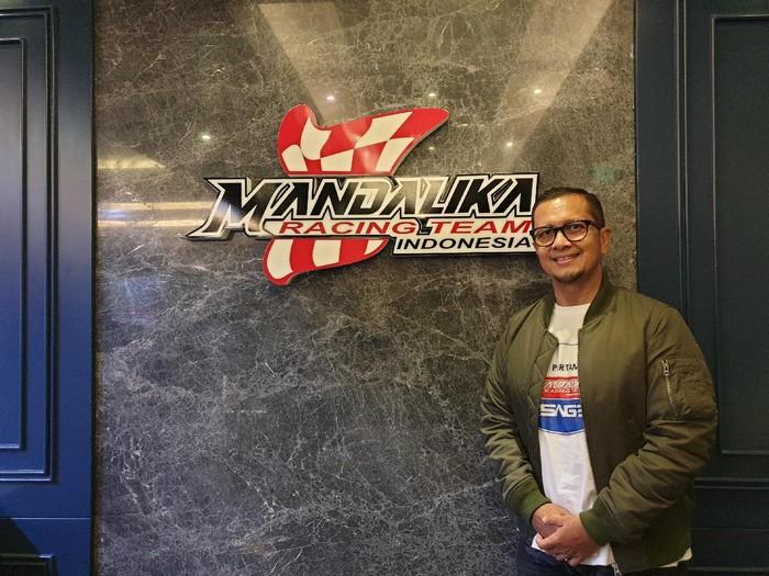 Direktur Mandalika Racing Team Indonesia (MRTI) Kemalsyah Nasution