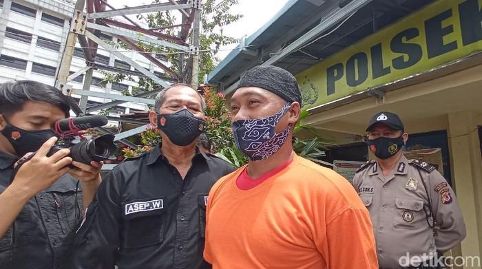 Driver Ojol Bandung Ditangkap Polisi