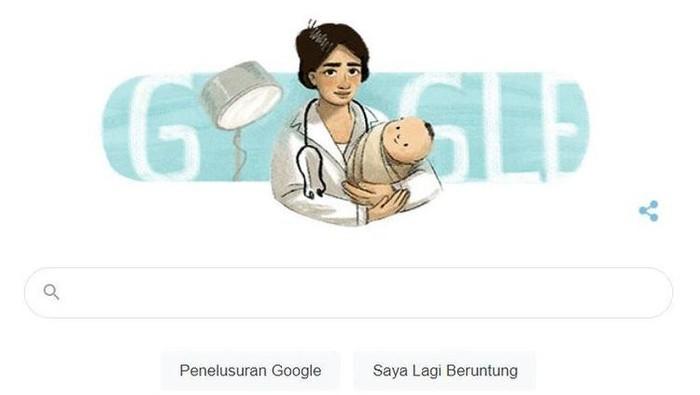 Google Doodle rayakan hari lahir marie thomas