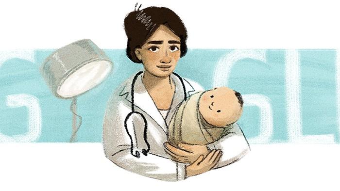 Google Doodle Marie Thomas