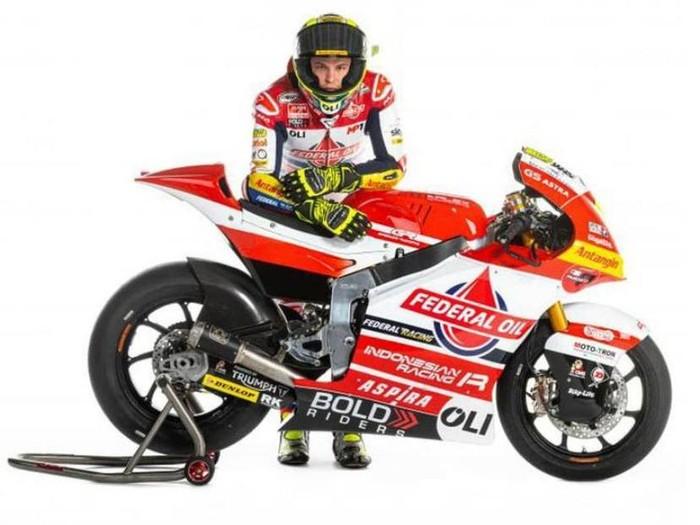 Gresini Racing mengungkap penampakan motor untuk Moto2 2021.