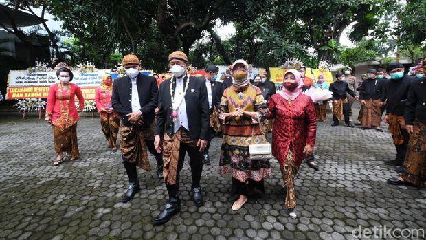 HUT ke-276 Kota Solo tahun ini menjadi momen berpamitan FX Hadi Rudyatmo dan Achmad Purnomo dari jabatan Wali Kota dan Wakil Wali Kota Solo, Rabu (17/2/2021).