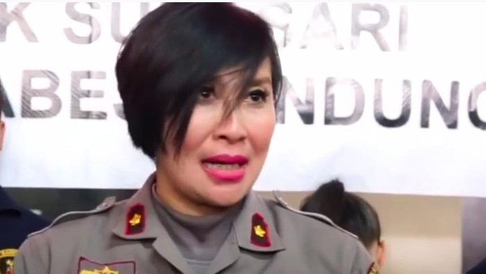 Kapolsek Astanaanyar Kompol Yuni Purwanti Kusuma Dewi