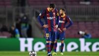 Barcelona Tim Medioker, Terlalu Bergantung pada Messi