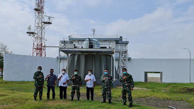 RI Punya Gedung Latihan Tempur Mirip Kapal Pertama di ASEAN