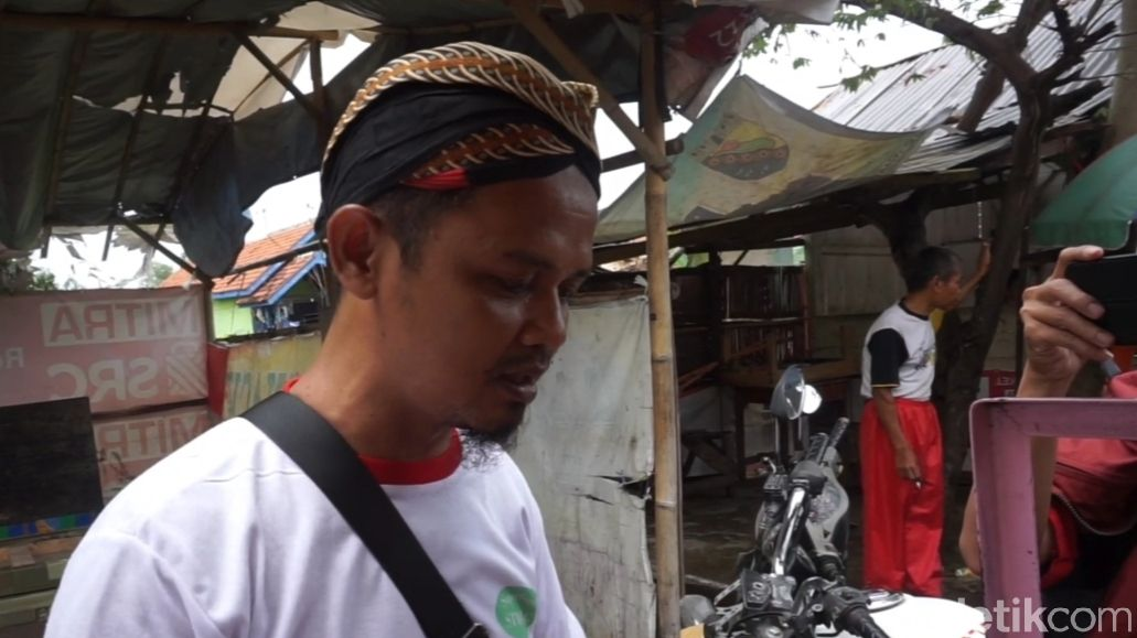 Senangnya Bang Jeck, Baksonya Diborong Pak Ganjar Pranowo
