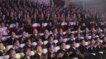 Momen Istri Kim Jong Un Muncul Lagi di Publik