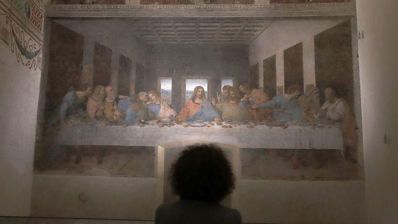 Mural The Last Supper