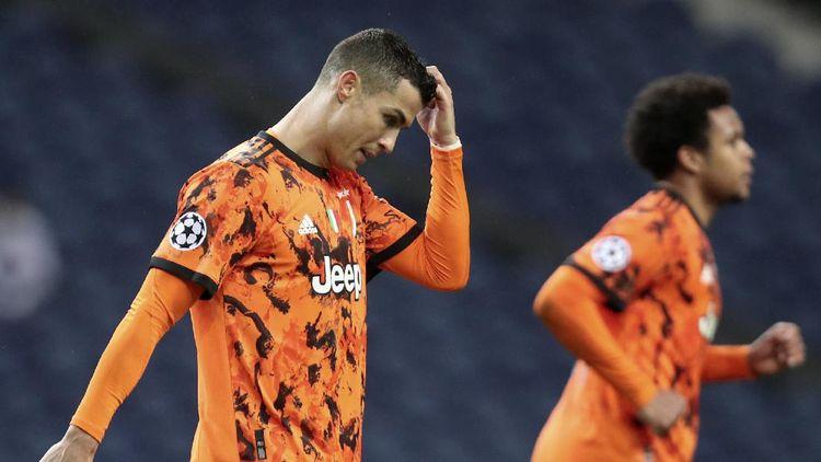 Foto: Ekspresi Murung Cristiano Ronaldo