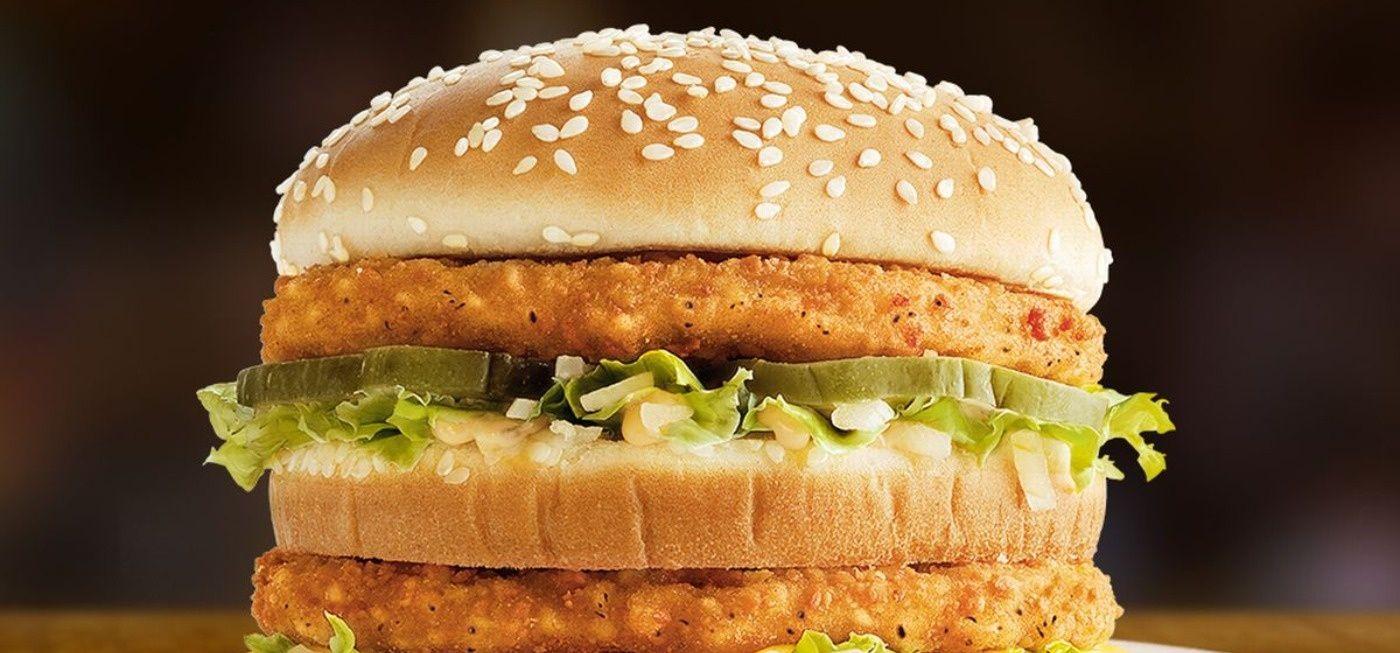 Duh! Es Krim Roll di Pakistan Ini Dibuat dari Burger Ayam McD