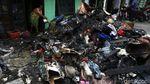 Duka Korban Kebakaran Tambora, Rumah Hangus Dokumen Terbakar