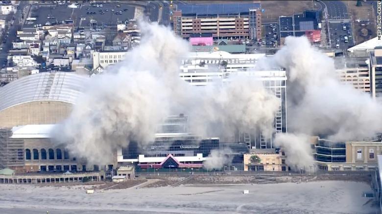 Kasino Donald Trump di Atlantic City Dihancurkan