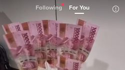 Cerita di Balik Viral Wanita Diprank Pacarnya, Dikasih Buket Uang Rp 40 Juta