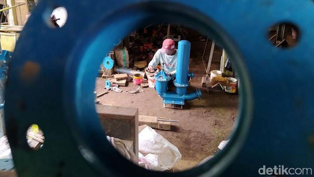 Mengintip Pompa Hidram Made in Temanggung