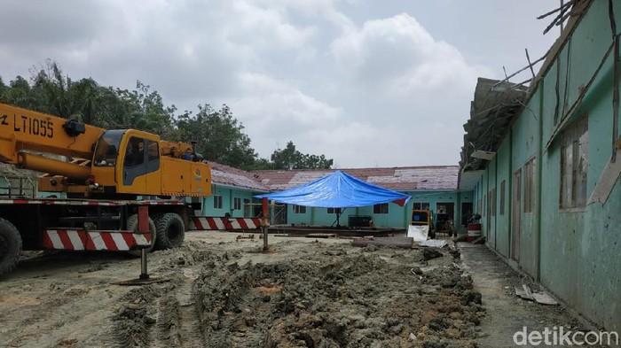 Pemprov Riau tutup lubang semburan gas di Ponpes Al Ihsan Pekanbaru
