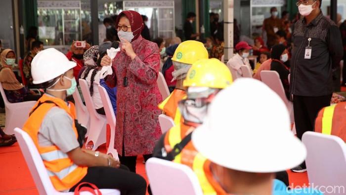 Sentra Kreasi Asistensi Rehabilitasi Sosial (Atensi) di Bekasi, baru saja diresmikan. Atensi merupakan pusat pengembangan kewirausahaan dan vokasional untuk eks PMKS.