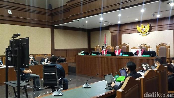 Sidang Nurhadi di Pengadilan Tipikor (Zunita/detikcom)
