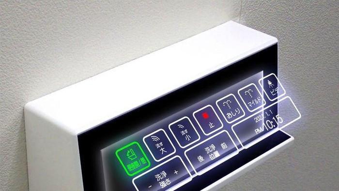 toilet jepang holografik