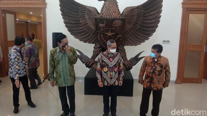 Wakil Ketua KPK Alexander Marwata di kantor Gubernur DIY, Yogyakarta, Kamis (18/2/2021).