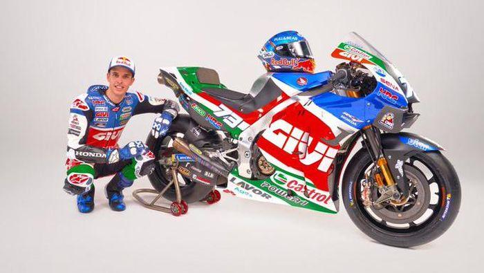 MotoGP 2021: Penampilan Anyar Alex Marquez Bersama LCR Honda