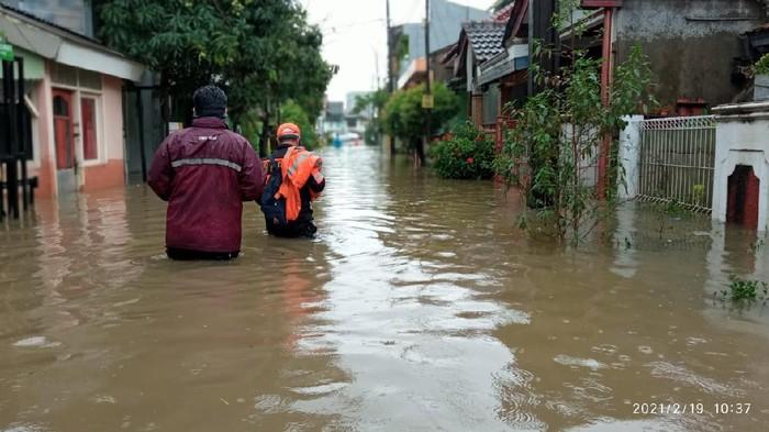 Banjir di Bekasi (Dok. BPBD Bekasi)