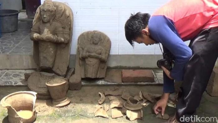 BPCB Jatim Identifikasi Temuan Arca di Tulungagung