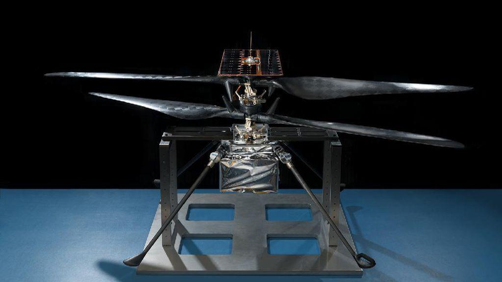 Keren, Wujud Helikopter Pertama yang Bakal Mengudara di Mars