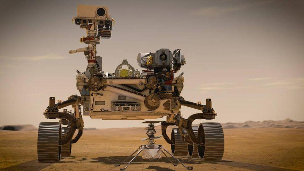 Misi Robot NASA Cari Alien di Mars Bisa Bikin Geger