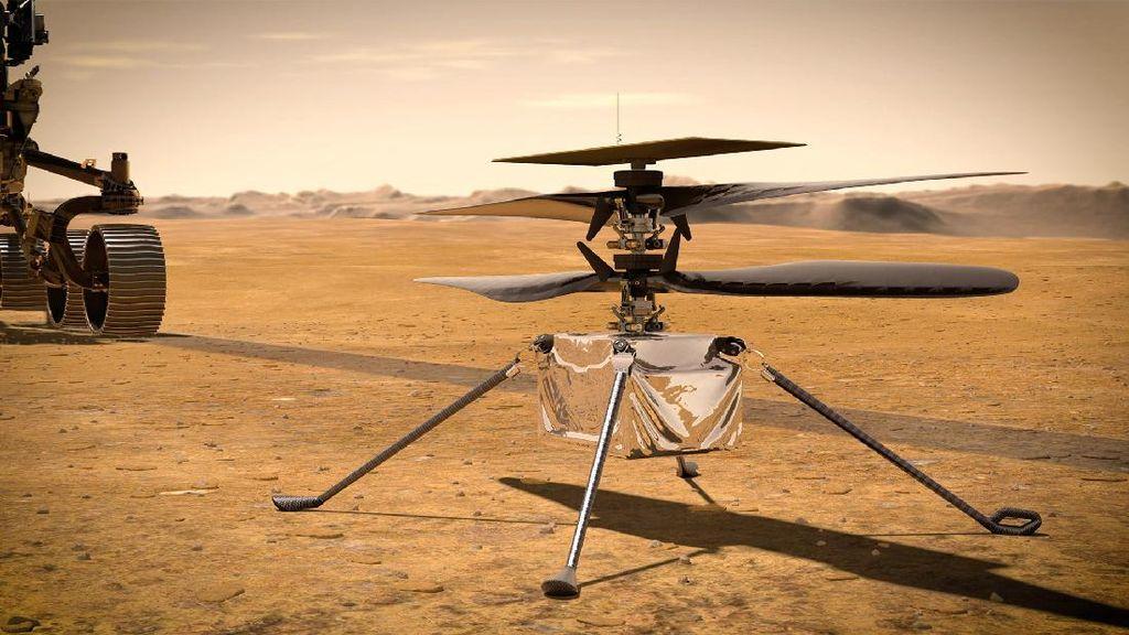 5 Fakta Ingenuity, Helikoper Canggih yang Akan Terbang di Mars