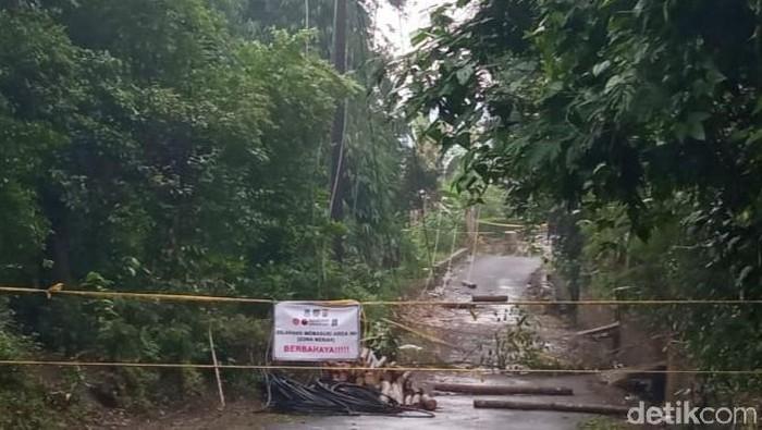 Longsoran tebing di Cilawu Garut semakin meluas