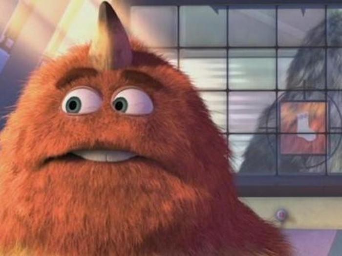Cuplikan film Monster, Inc. tentang kode 23-19,