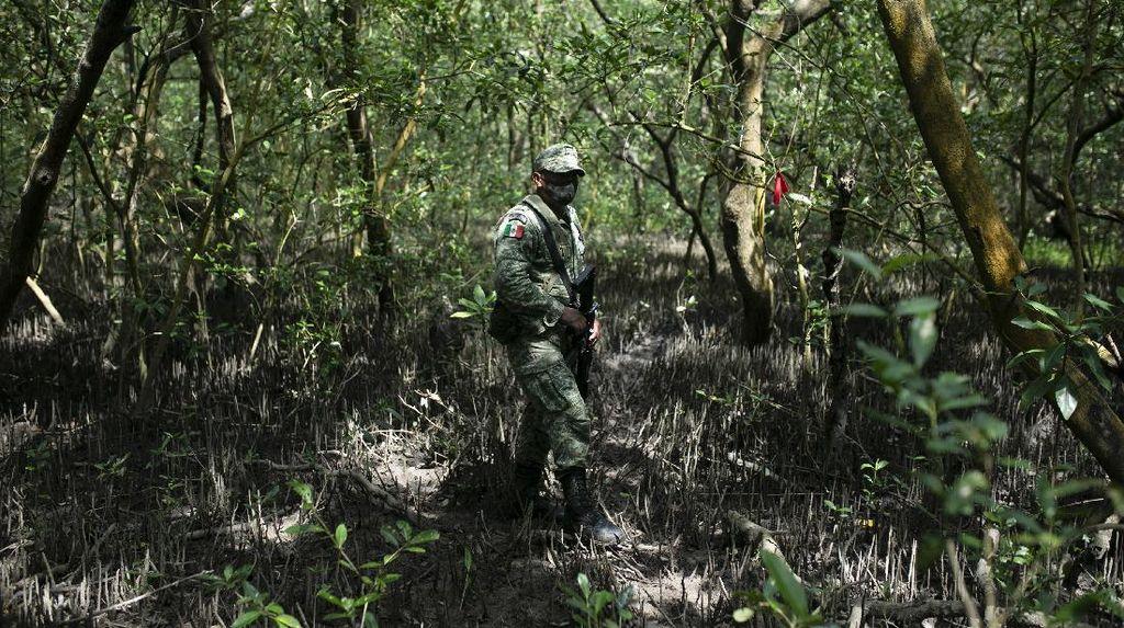 Penemuan Makam Rahasia Korban Geng Narkoba di Meksiko