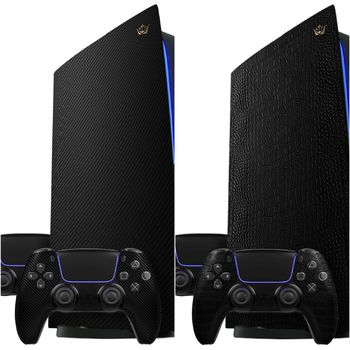 PS5 edisi Carbon dan Alligator buatan Caviar