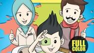 Dosen Farmasi Unair Bikin Komik Petualangan untuk Mengedukasi Anak