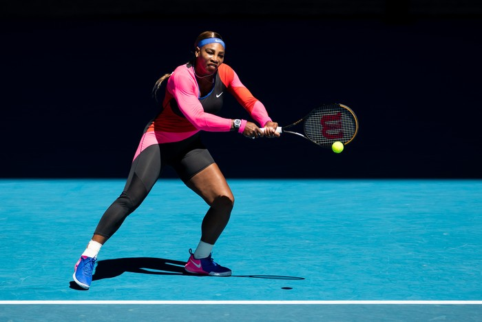 Serena Williams melawan Naomi Osaka di semi final Australian Open 2021