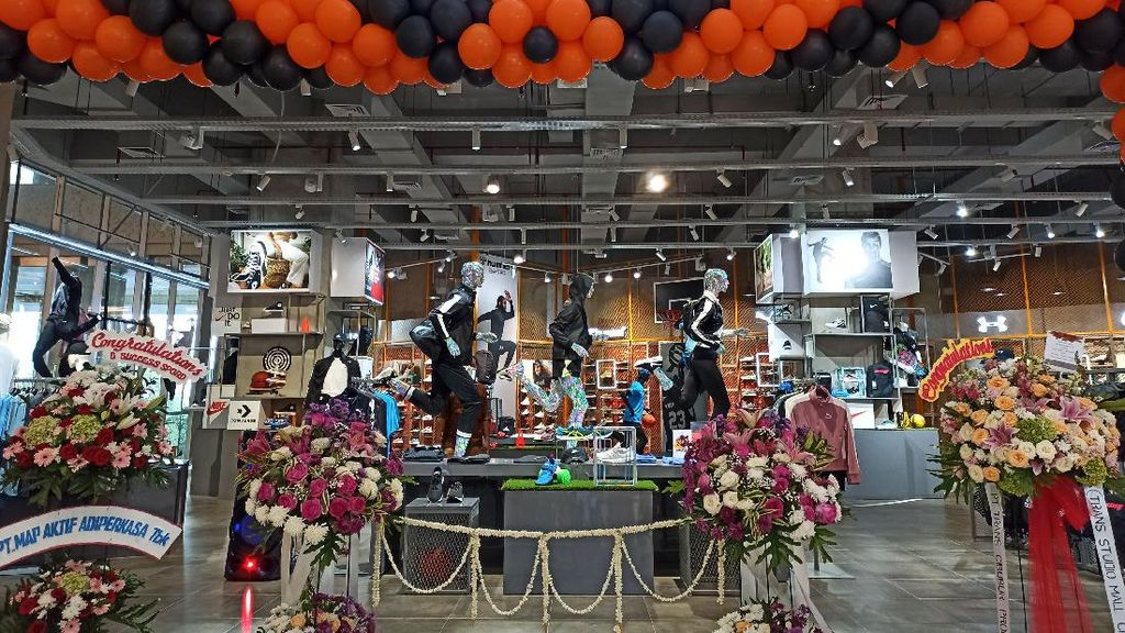 Toko Olahraga SPORD Hadir di Trans Studio Mall Cibubur