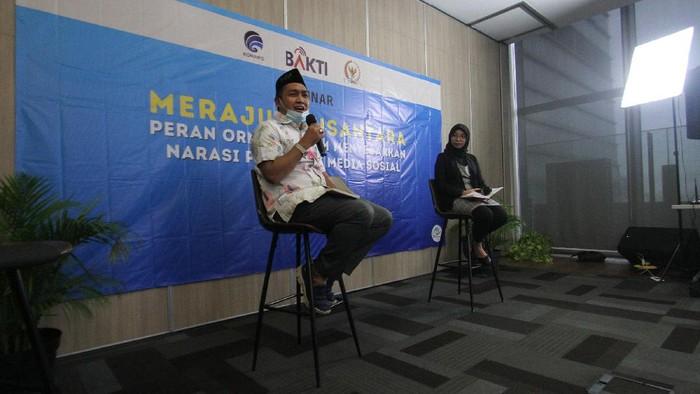 Webdinar bertajuk Merajut Nusantara Peran Ormas Dalam Menyebarkan Narasi Positif di Media Sosial' sukses digelar.