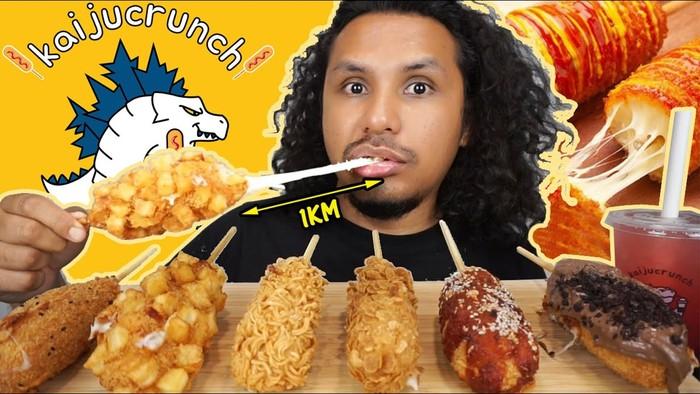 Wow! YouTuber Ini Bisa Lahap Puluhan Porsi Makanan Sekaligus