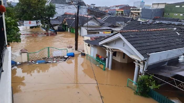 Banjir di Mekarmukti Cikarang Utara