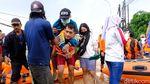 Banjir, Warga Perumahan Bumi Nasio Indah Dievakuasi