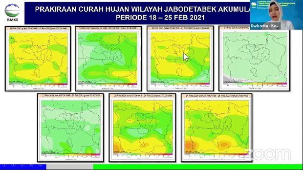 BMKG membeberkan kondisi pemicu terjadinya cuaca ekstrem di Jabodetabek (dok YouTube BMKG)