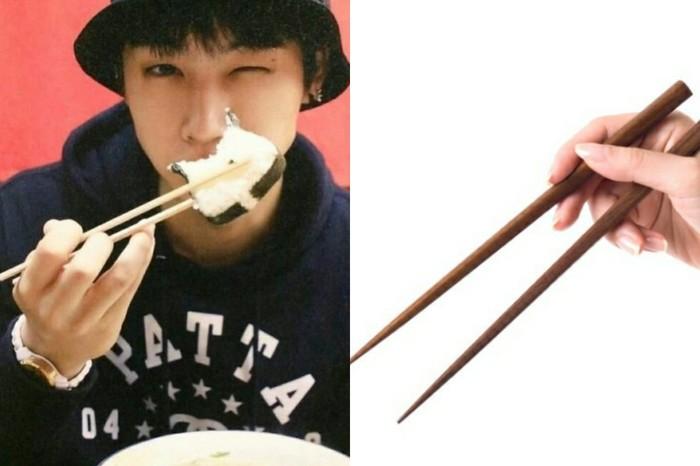 cara pakai sumpit jaebum got7 terinspirasi dari film