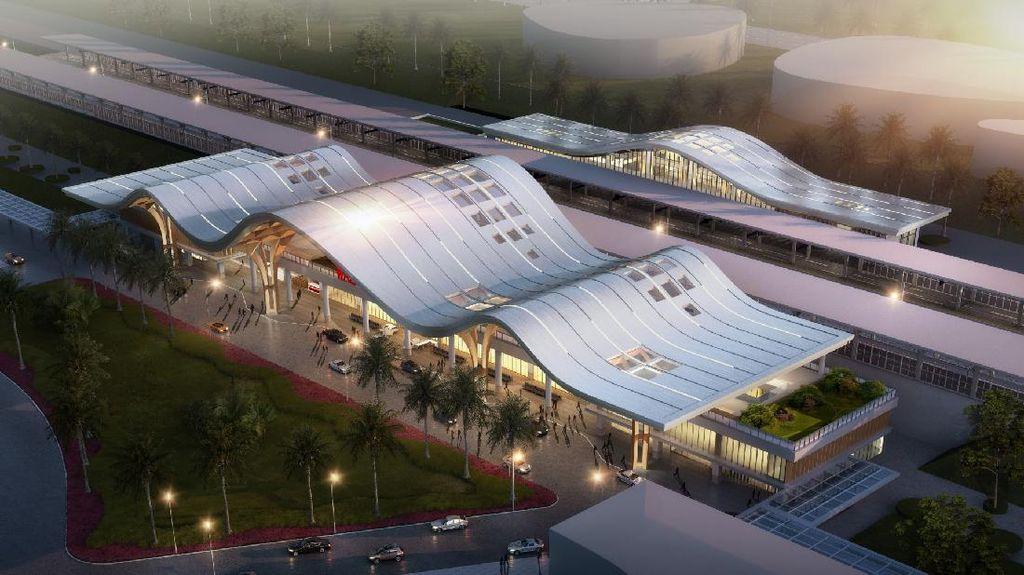 Megahnya Desain Stasiun Kereta Cepat JKT-BDG, Intip Yuk!