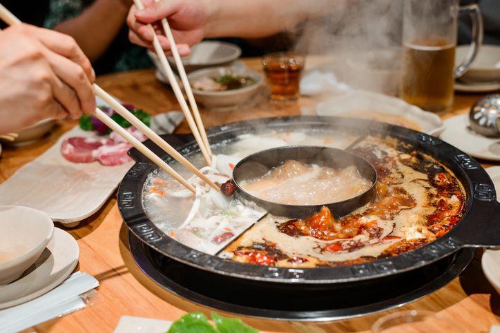 cara makan hot pot yang benar