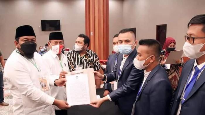 KPU tetapkan Syahrial jadi Walkot Tanjungbalai terpilih (Dok istimewa