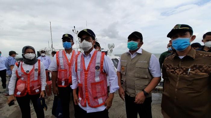 Menhub Budi Karya cek Pelabuhan Tanjung Carat Sumatera Selatan